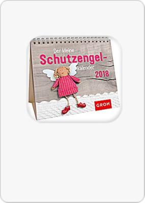 Groh Mini-Kalender 2018 zum Aufstellen Schutzengelkalender