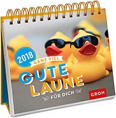 Groh Bunter Wochenkalender 2018 gute Laune für dich
