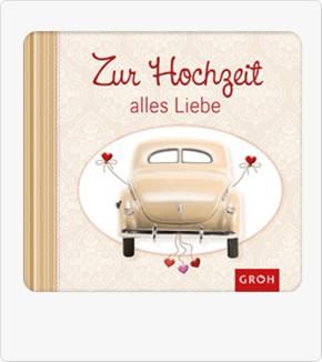 Buch Zur Hochzeit alles Liebe