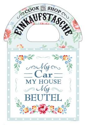Cook Shop Einkaufstasche My Car My House My Beutel