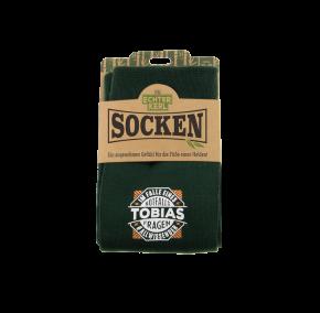 History & Heraldry Design Bambus Socken mit Name: Tobias    - für Männer Herren 39 - 45 / atmungsaktiv, antibakteriell und umweltfreundlich - Geschenk - individuell mit Namen und Spruch