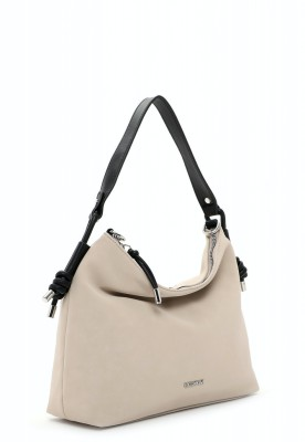 EMILY & NOAH Beutel Erika sand 420 35cm Damentaschen Handtaschen Shopper
