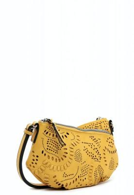 EMILY & NOAH Umhängetasche Elise 25cm yellow 460 Damentaschen Handtaschen Shopper
