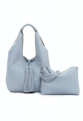 EMILY & NOAH Beutel Eva 37cm sky 530 Damentaschen Handtaschen Shopper