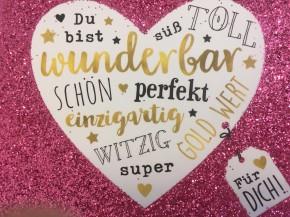 WUNSCHERFÜLLER Soundbox 1  Du bist wunderbar süß toll schön...