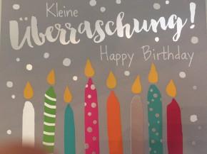 WUNSCHERFÜLLER Soundbox 1 Stück Kleine Überraschung! Happy Birthday