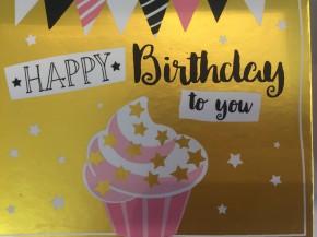 WUNSCHERFÜLLER Soundbox 1 Stück Happy Birthday to you