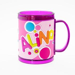 John Hinde Namensbecher für Kinder Name Alina