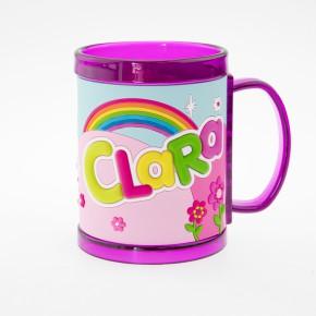 John Hinde Namensbecher für Kinder Name Clara