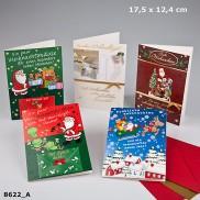 Fröhliche Weihnachtsgrüße Klappkarten 8622-013 In diesem Päckchen stecken ein paar...
