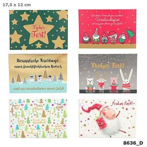 Postkarten Weihnachten X-MAS Dreams 8636-066