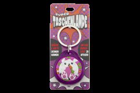 Super Taschenlampe mit Titel: Charakter Hase - Schluessel Anhaenger auch fuer Schulranzen - als Geschenk - individuell mit Namen und Spruch