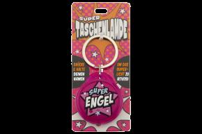 Super Taschenlampe mit Titel:  Engel - Schluessel Anhaenger auch fuer Schulranzen - als Geschenk - individuell mit Namen und Spruch