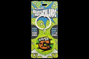 Super Taschenlampe mit Buchstabe: C - Schluessel Anhaenger auch fuer Schulranzen - als Geschenk - individuell mit Namen, Buchstabe oder Spruch