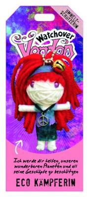 Watchover Voodoo Sammel Puppe mit Spruch Eco Kämpferin