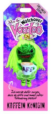 Watchover Voodoo Sammel Puppe mit Spruch Koffein Königin