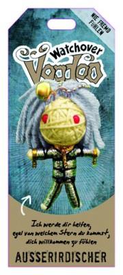 Watchover Voodoo Sammel Puppe mit Spruch Ausserirdischer