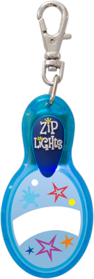 John Hinde Zip Light Blanko Blau