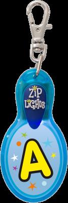 John Hinde Zip Light mit Buchstabe A