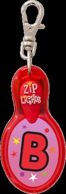 John Hinde Zip Light mit Buchstabe B