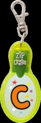 John Hinde Zip Light mit Buchstabe C