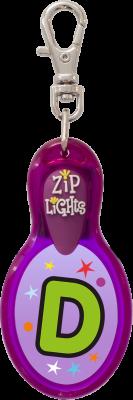 John Hinde Zip Light mit Buchstabe D