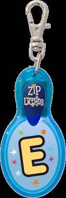 John Hinde Zip Light mit Buchstabe E