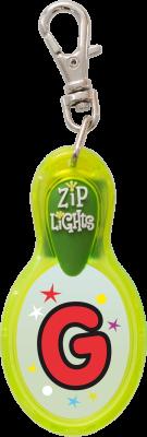 John Hinde Zip Light mit Buchstabe G