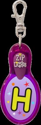 John Hinde Zip Light mit Buchstabe H