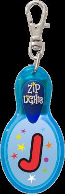 John Hinde Zip Light mit Buchstabe J