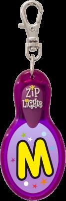 John Hinde Zip Light mit Buchstabe M