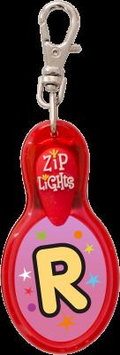John Hinde Zip Light mit Buchstabe R
