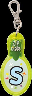 John Hinde Zip Light mit Buchstabe S