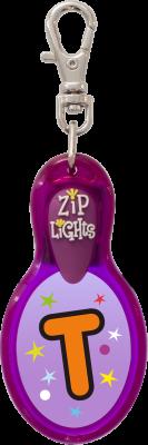 John Hinde Zip Light mit Buchstabe T
