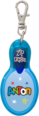 John Hinde Zip Light mit Namen Anton