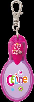 John Hinde Zip Light mit Namen Celine