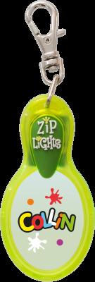 John Hinde Zip Light mit Namen Collin