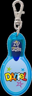John Hinde Zip Light mit Namen Daniel