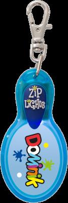 John Hinde Zip Light mit Namen Dominik