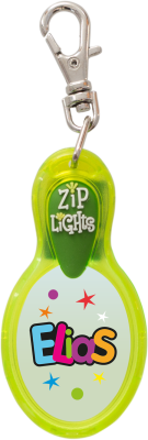 John Hinde Zip Light mit Namen Elias