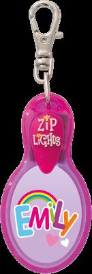 John Hinde Zip Light mit Namen Emily