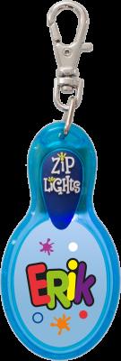 John Hinde Zip Light mit Namen Erik