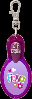 John Hinde Zip Light mit Namen Fiona
