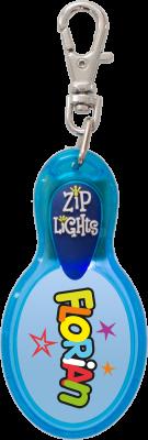 John Hinde Zip Light mit Namen Florian
