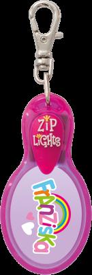 John Hinde Zip Light mit Namen Franziska