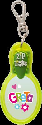 John Hinde Zip Light mit Namen Greta
