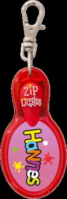 John Hinde Zip Light mit Namen Hannes