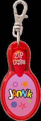 John Hinde Zip Light mit Namen Jannik