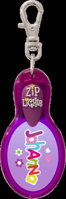 John Hinde Zip Light mit Namen Johanna