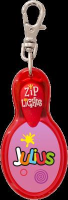 John Hinde Zip Light mit Namen Julius